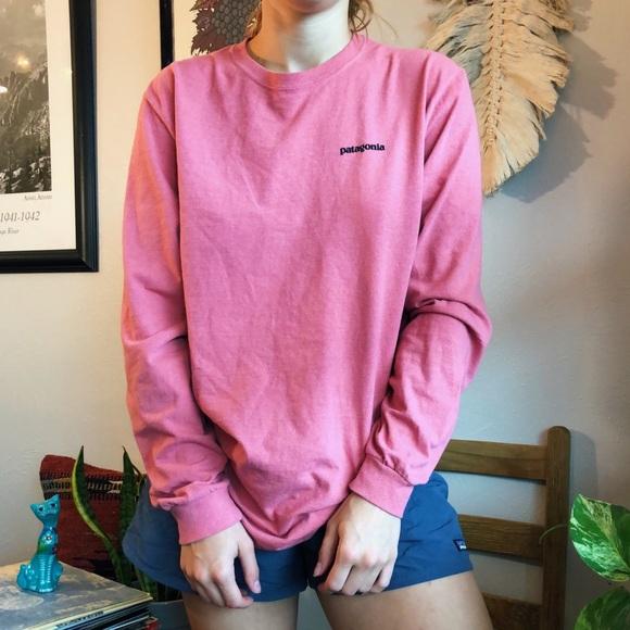 Patagonia Other - Pink long sleeve Patagonia shirt